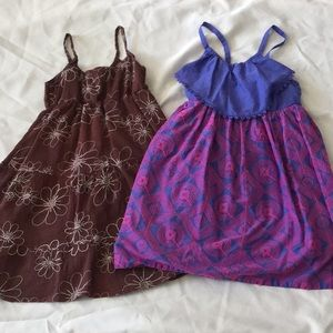 Two beautifully stitched sundresses